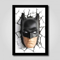Placa decorativa Batman 3D